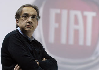 Sergio Marchionne, ad Fiat Group
