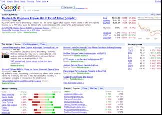 f5c9fde8f5 Google Finance in tempo reale (e gratis) sui titoli di Borsa - Il ...