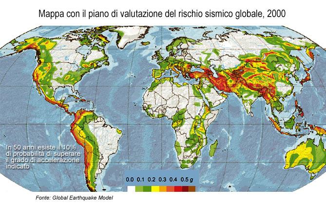 Forum che scossa for Mappa sismica italia