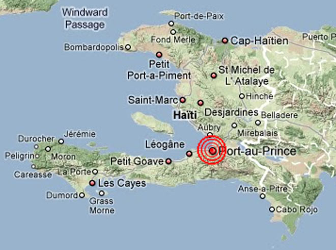 Cartina Geografica Haiti.Terremoto Di Haiti La Mappa Il Sole 24 Ore