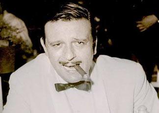 Un'immagine del cantante popolare Fred Buscaglione