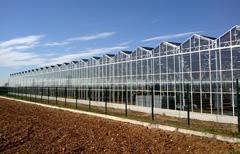 Energia nasce la pi grande serra fotovoltaica d 39 italia - Serra bioclimatica normativa ...