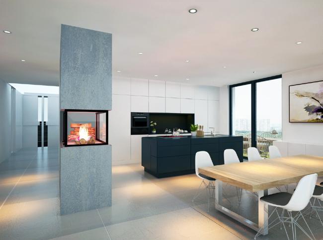Cucina e area living: come sfruttare al meglio gli spazi - Il Sole ...