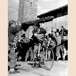 Gino Bartali, l'angelo delle due ruote