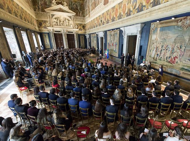 Mattarella celebra l'Unità d'Italia: