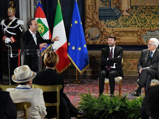 Mattarella accoglie al Quirinale candidati ai David di Donatello
