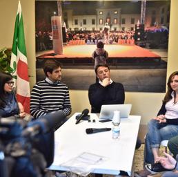 Renzi: «Se vinco la sfida per la segreteria ricomincio dalla scuola»