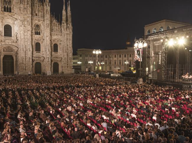 Concerto piazza Duomo, misure sicurezza