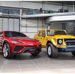 L'antesignano del nuovo suv Lamborghini? Si chiama LM002 ed è datato 1981