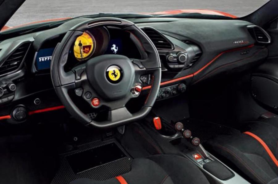 Ecco la nuova Ferrari 488 Pista