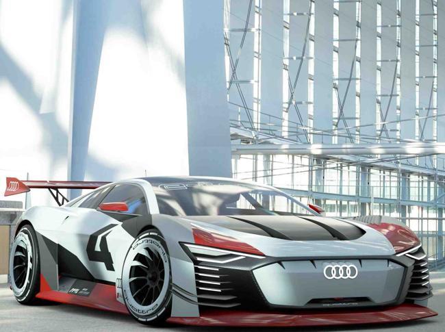 Audi e-tron Vision Gran Turismo, dalla PlayStation alla pista