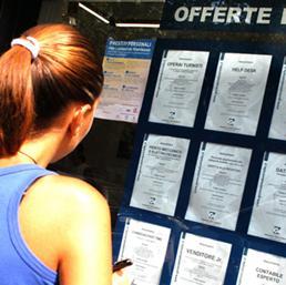 Inps, a luglio 280mila domande disoccupazione: +9,4%