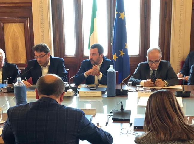 Sviluppo, imprese da Salvini: pressing su infrastrutture e crescita