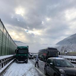 Maltempo:  Brennero in tilt. Frane e smottamenti in Liguria e in Emilia