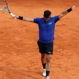 Tennis, impresa Fognini: batte Nadal e va in finale al torneo di Montecarlo