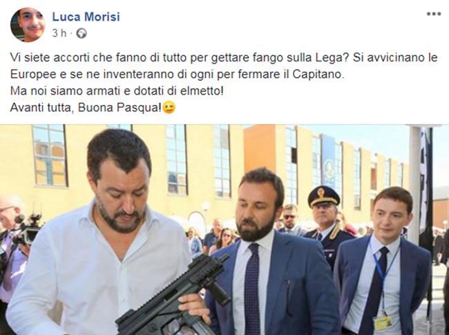 Luca Morisi post