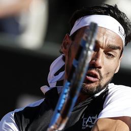 Solo Fognini illumina il tennis italiano al Foro Italico