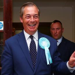 Regno Unito: vince il Brexit Party di Farage, tracollo dei Tories