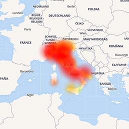 Vodafone down in Italia, giù rete fissa e mobile