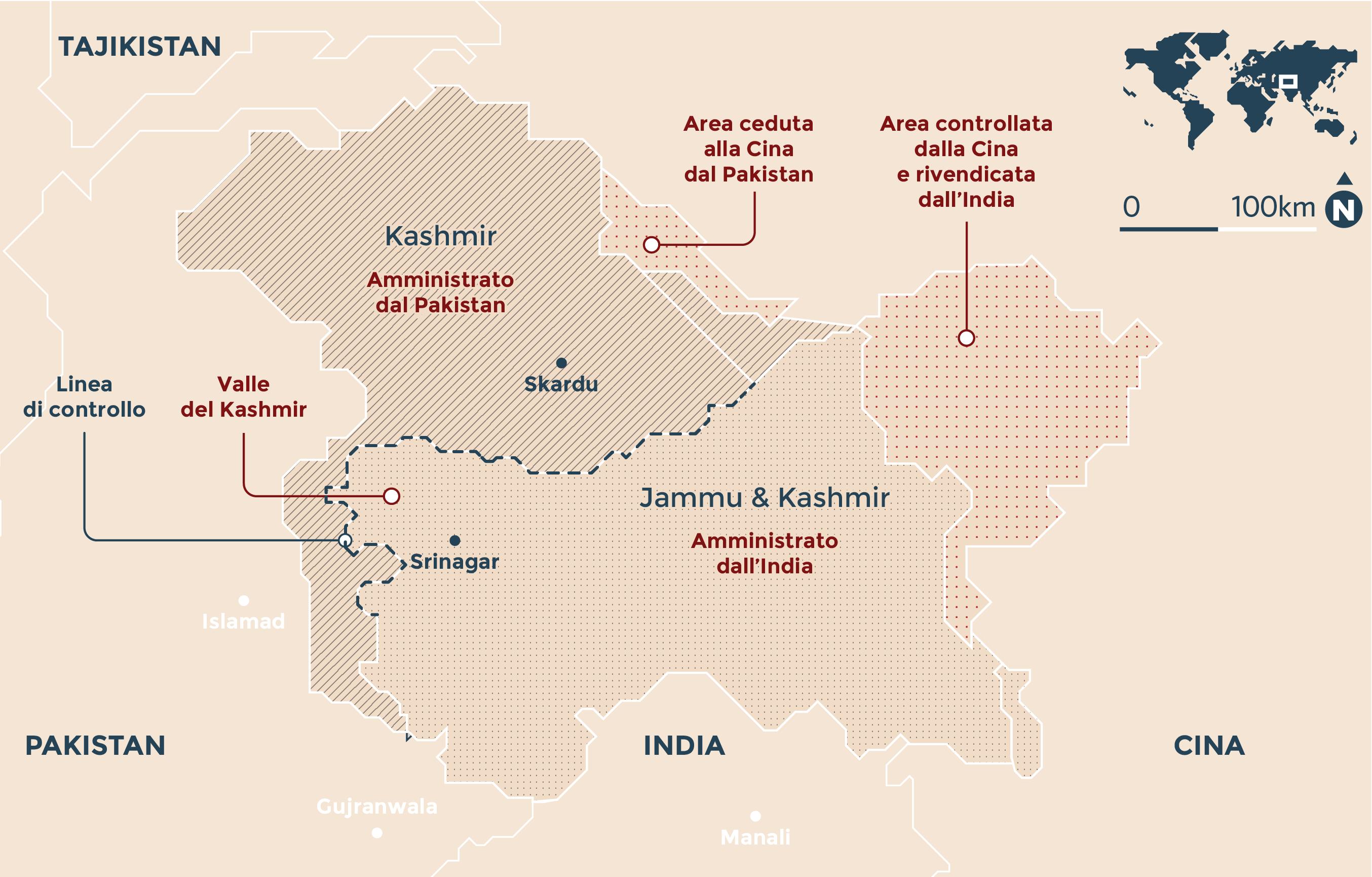 Sale la tensione tra Pakistan e India - Primopiano