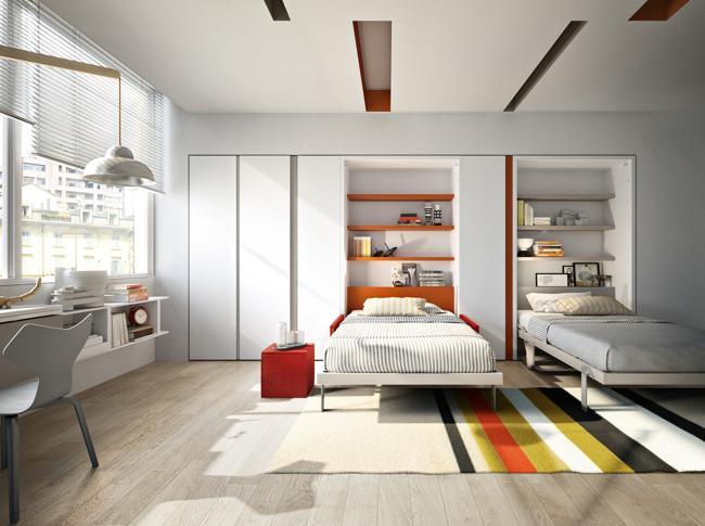 Camere Per Giovani : Camerette per bambini versatili e di design il sole ore