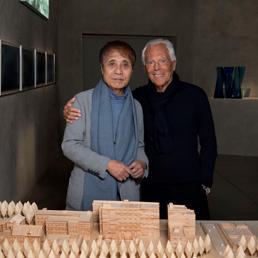 Le affinità creative di Armani e Tadao Ando: lo stilista ospita al Silos la ...