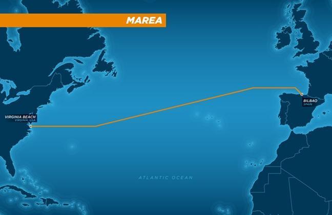 Microsoft e Facebook costruiscono un super-cavo internet nell'Atlantico
