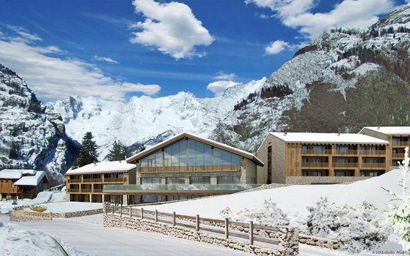 Relax sulla neve le spa di montagna dalla valle d aosta al trentino il sole 24 ore - Hotel courmayeur con piscina ...