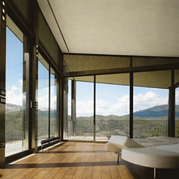 147 case grandi moderne casa con ampie vetrate villa for Vetrate case moderne