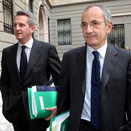 Alberto Nagel e Renato Pagliaro AD e Presidente di Mediobanca