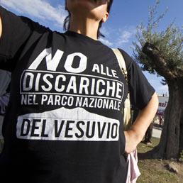 Les mères vésuviennes: Non aux décharges dans le parc National du Vésuve