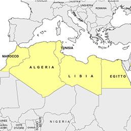 Cartina Europa E Medio Oriente.Cartina Europa E Africa Del Nord