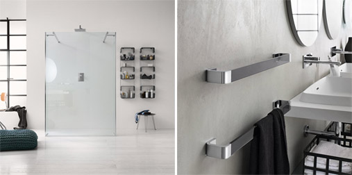 Inda il design total living per la sala da bagno for Sala da bagno design